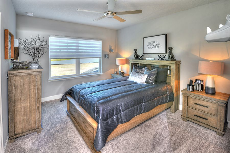 Bedroom featured in the Santa Rosa By ICI Homes in Jacksonville-St. Augustine, FL