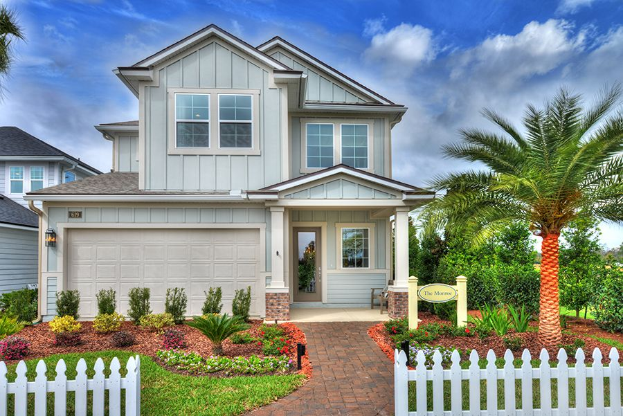 Exterior featured in the Monroe By ICI Homes in Jacksonville-St. Augustine, FL