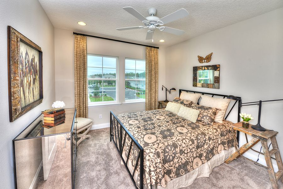 Bedroom featured in the Monroe By ICI Homes in Jacksonville-St. Augustine, FL