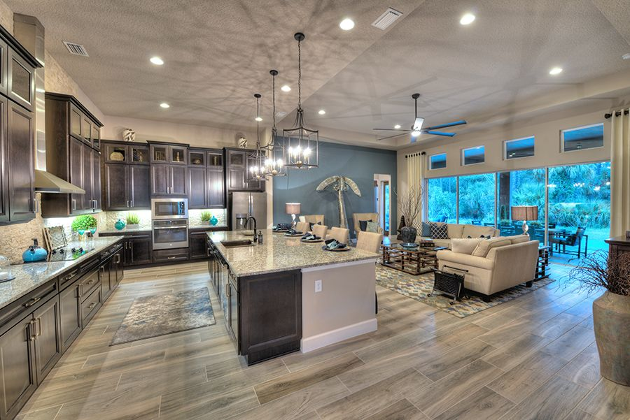 Living Area featured in the Costa Mesa By ICI Homes in Daytona Beach, FL