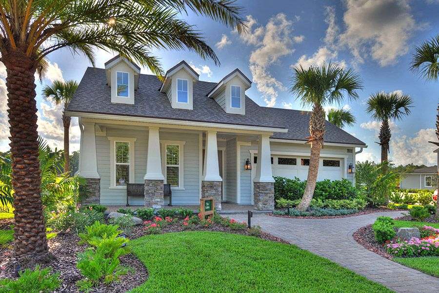 Exterior featured in the Aiden By ICI Homes in Jacksonville-St. Augustine, FL