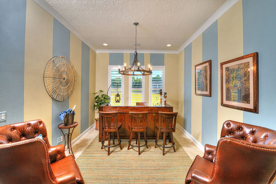 Living Area featured in the Aiden By ICI Homes in Jacksonville-St. Augustine, FL