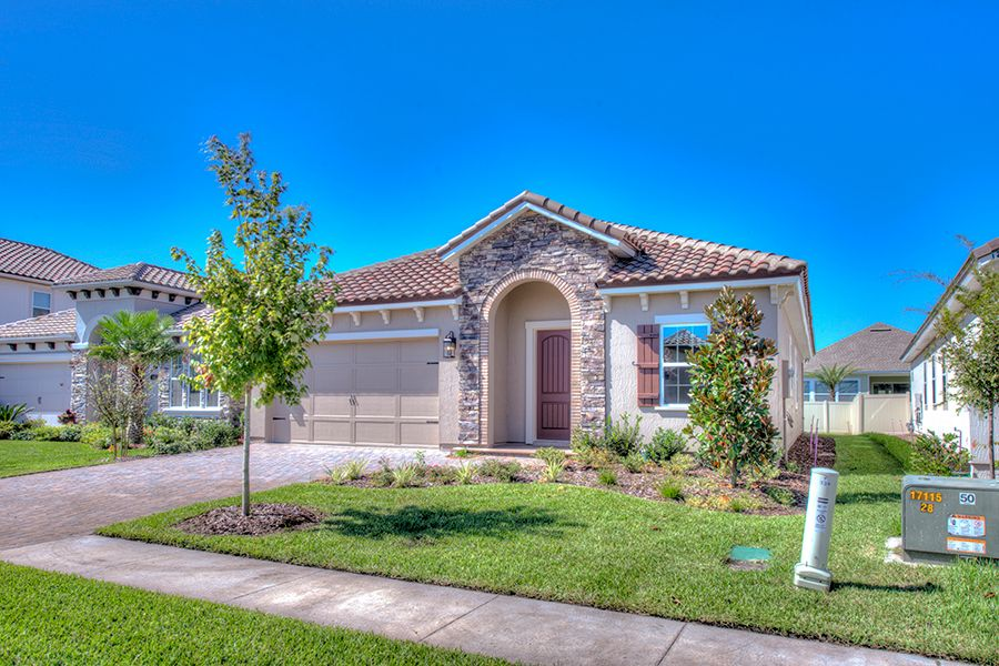 Exterior featured in the Monterey By ICI Homes in Jacksonville-St. Augustine, FL