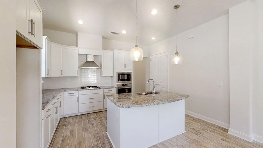 Kitchen featured in the Monterey By ICI Homes in Jacksonville-St. Augustine, FL