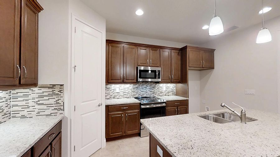 Kitchen featured in the Malibu By ICI Homes in Daytona Beach, FL
