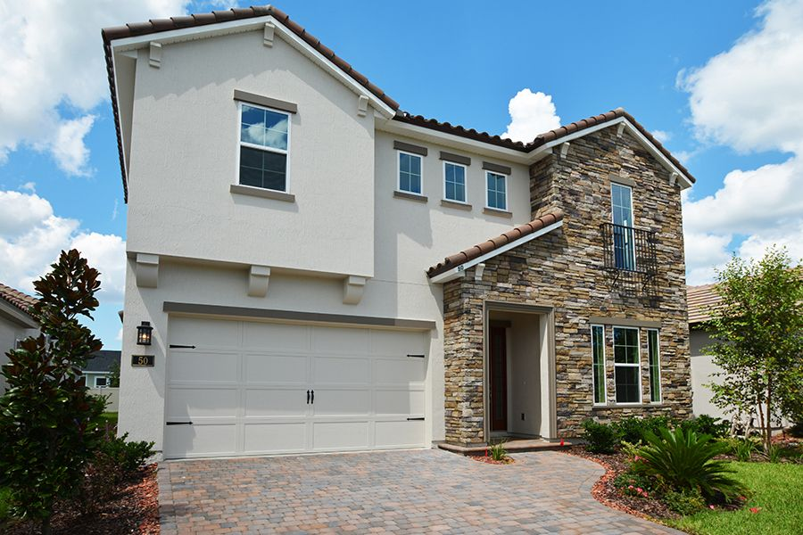 Exterior featured in the Palisade By ICI Homes in Jacksonville-St. Augustine, FL