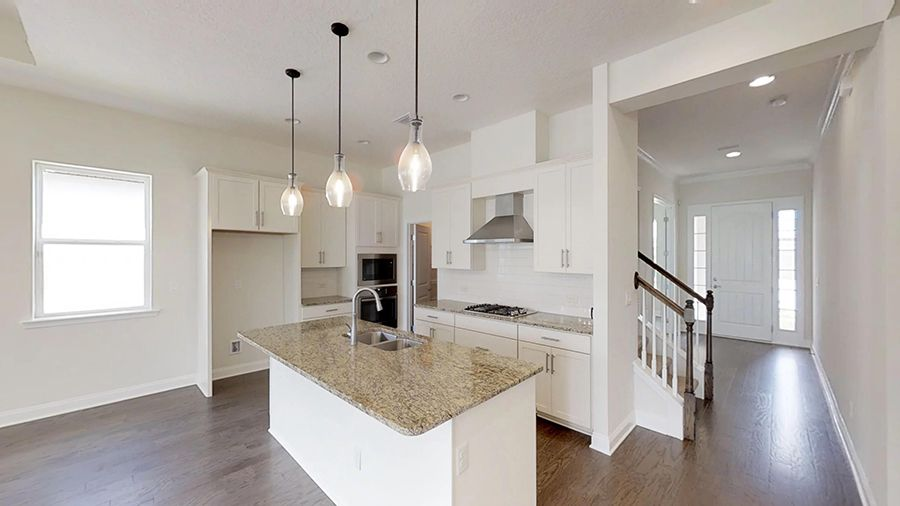 Kitchen featured in the Palisade By ICI Homes in Jacksonville-St. Augustine, FL