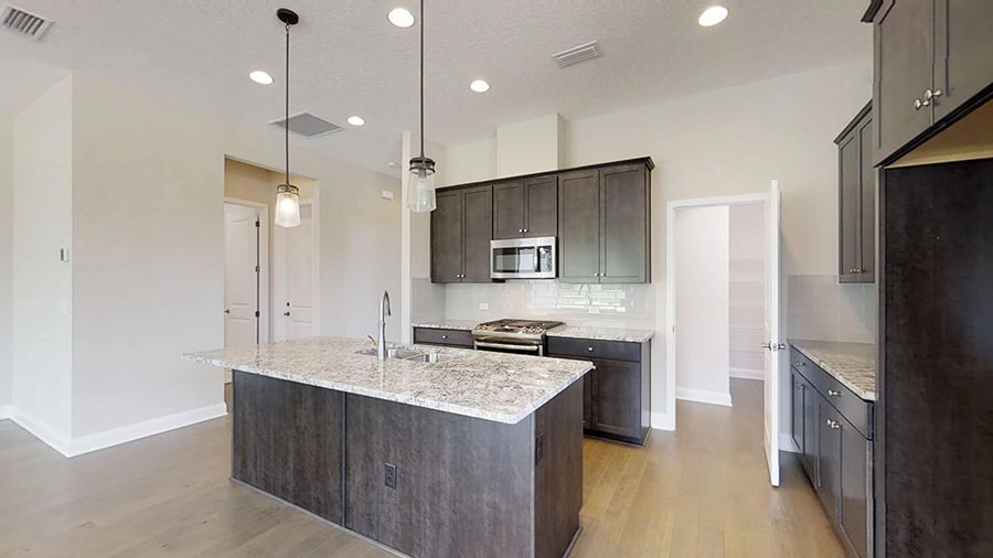 Kitchen featured in the Palisade By ICI Homes in Daytona Beach, FL