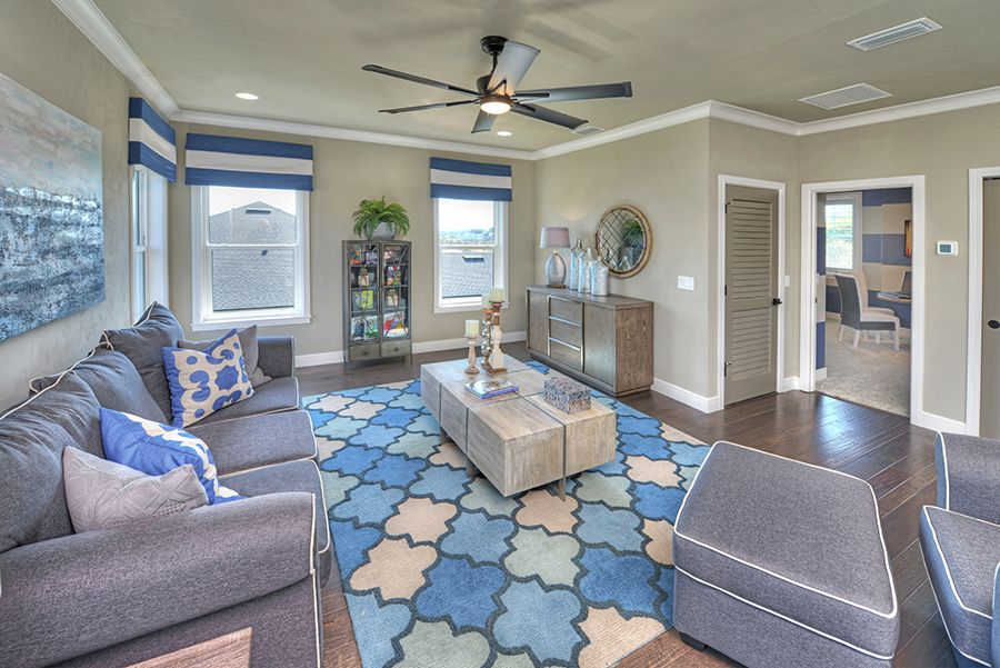 Living Area featured in the Brooke By ICI Homes in Gainesville, FL