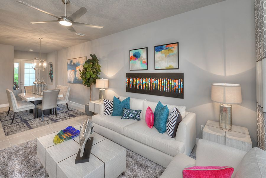 Living Area featured in the Blossom II By ICI Homes in Daytona Beach, FL