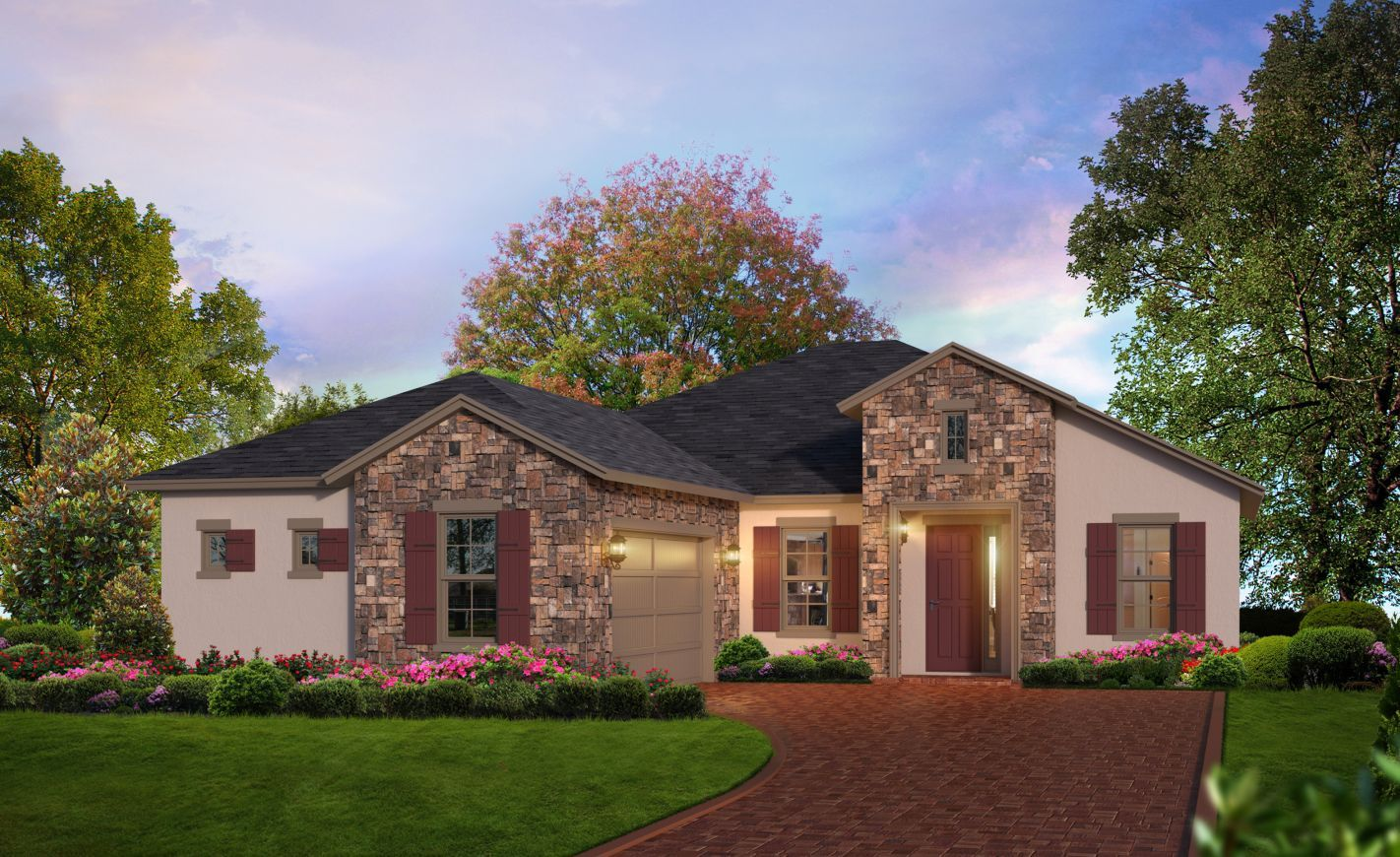 Exterior featured in the Sophia By ICI Homes in Jacksonville-St. Augustine, FL
