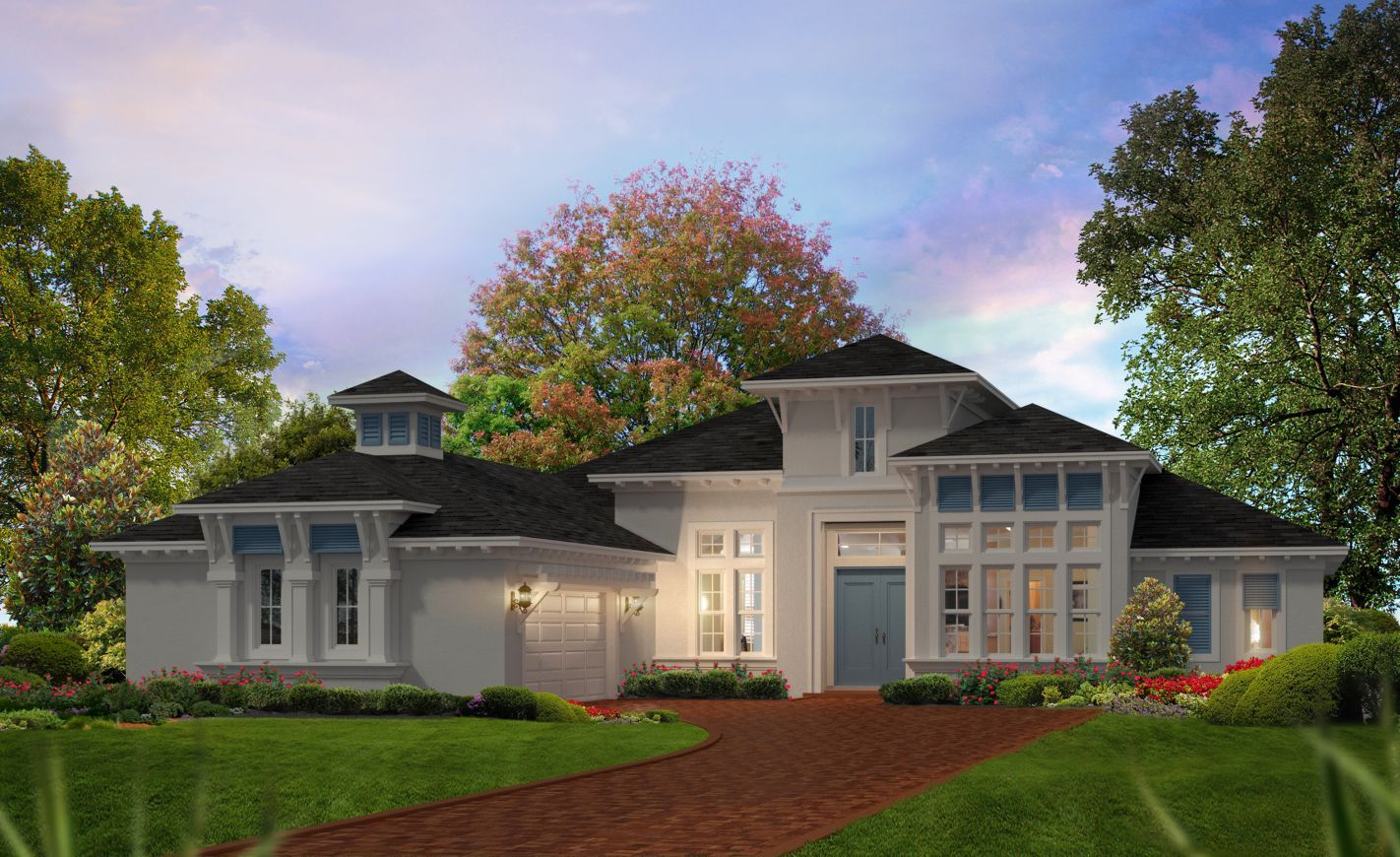 Exterior featured in the Egret II By ICI Homes in Jacksonville-St. Augustine, FL