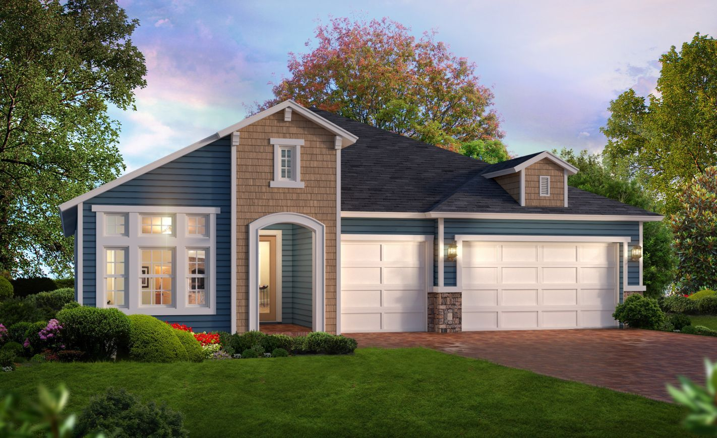 Exterior featured in the Arden By ICI Homes in Gainesville, FL