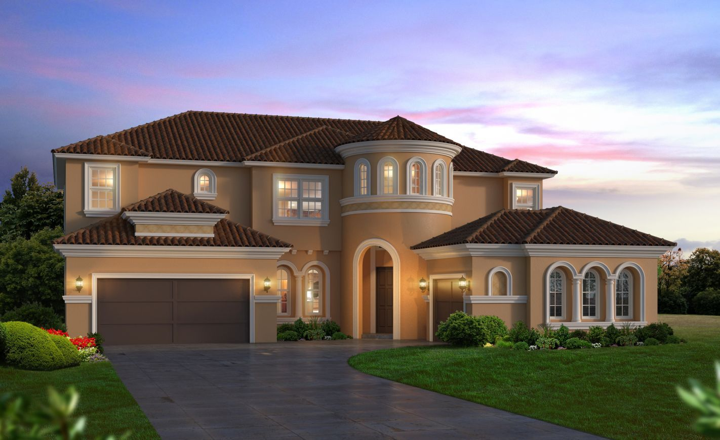 Exterior featured in the Brooke By ICI Homes in Daytona Beach, FL