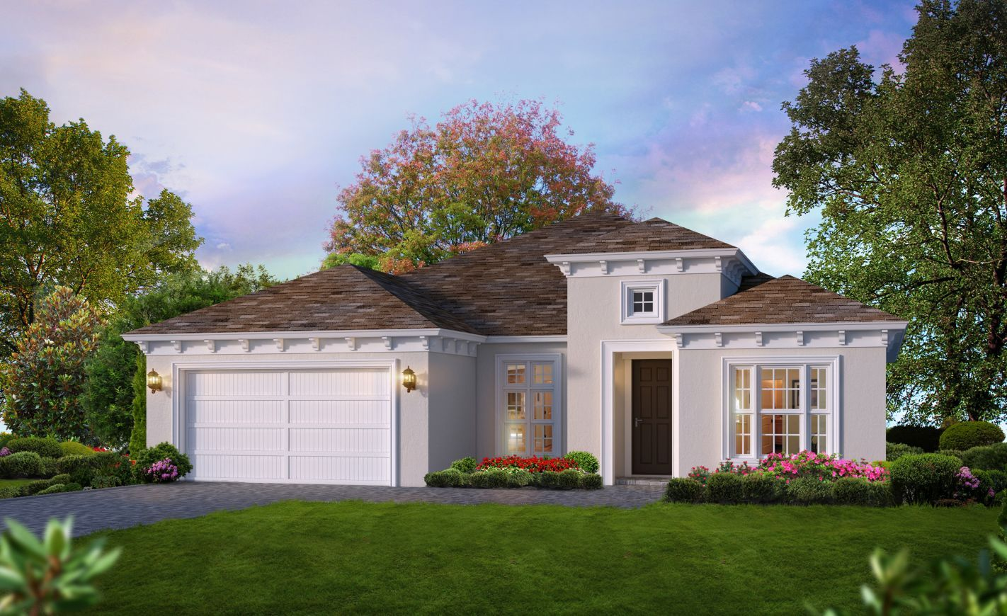 Exterior featured in the Juliette II By ICI Homes in Jacksonville-St. Augustine, FL