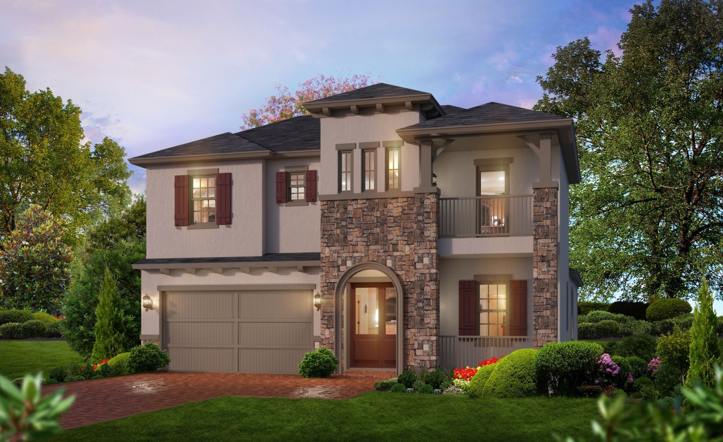 Exterior featured in the Santa Rosa By ICI Homes in Jacksonville-St. Augustine, FL