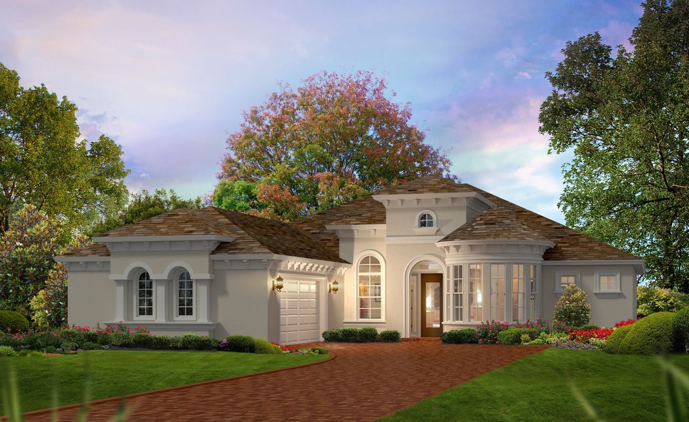 Exterior featured in the Egret VI By ICI Homes in Gainesville, FL