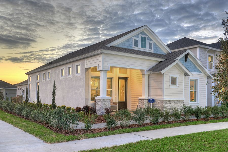 Exterior featured in the Lantana By ICI Homes in Tampa-St. Petersburg, FL