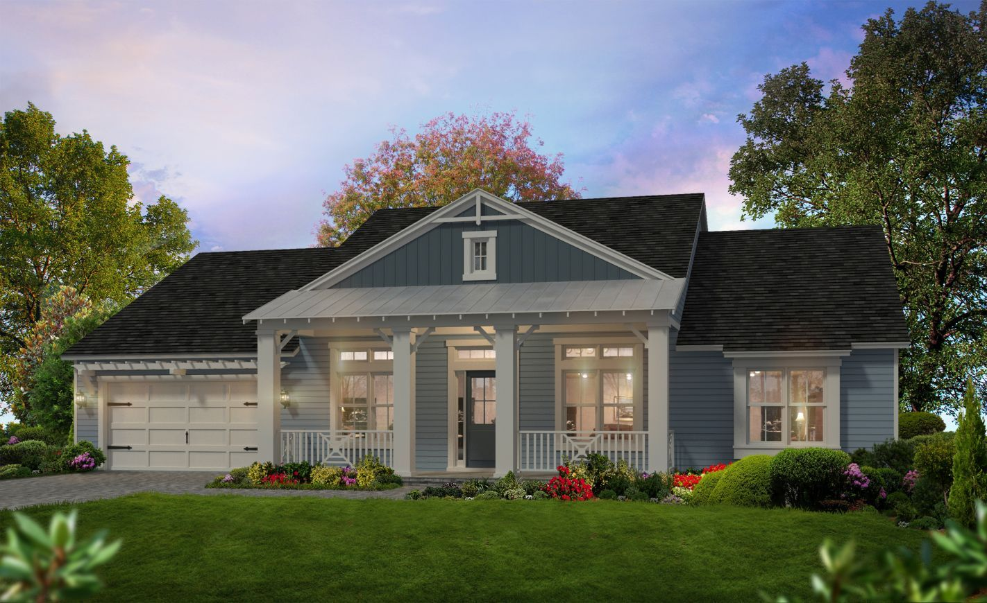Exterior featured in the Atlantic By ICI Homes in Jacksonville-St. Augustine, FL