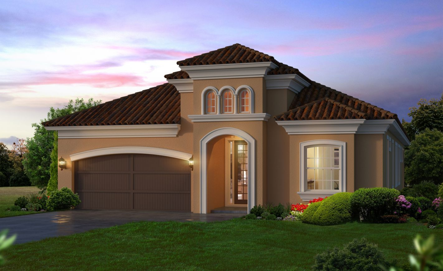 Exterior featured in the Serena By ICI Homes in Daytona Beach, FL