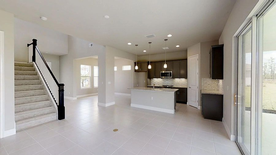 Kitchen featured in the Del Mar By ICI Homes in Gainesville, FL
