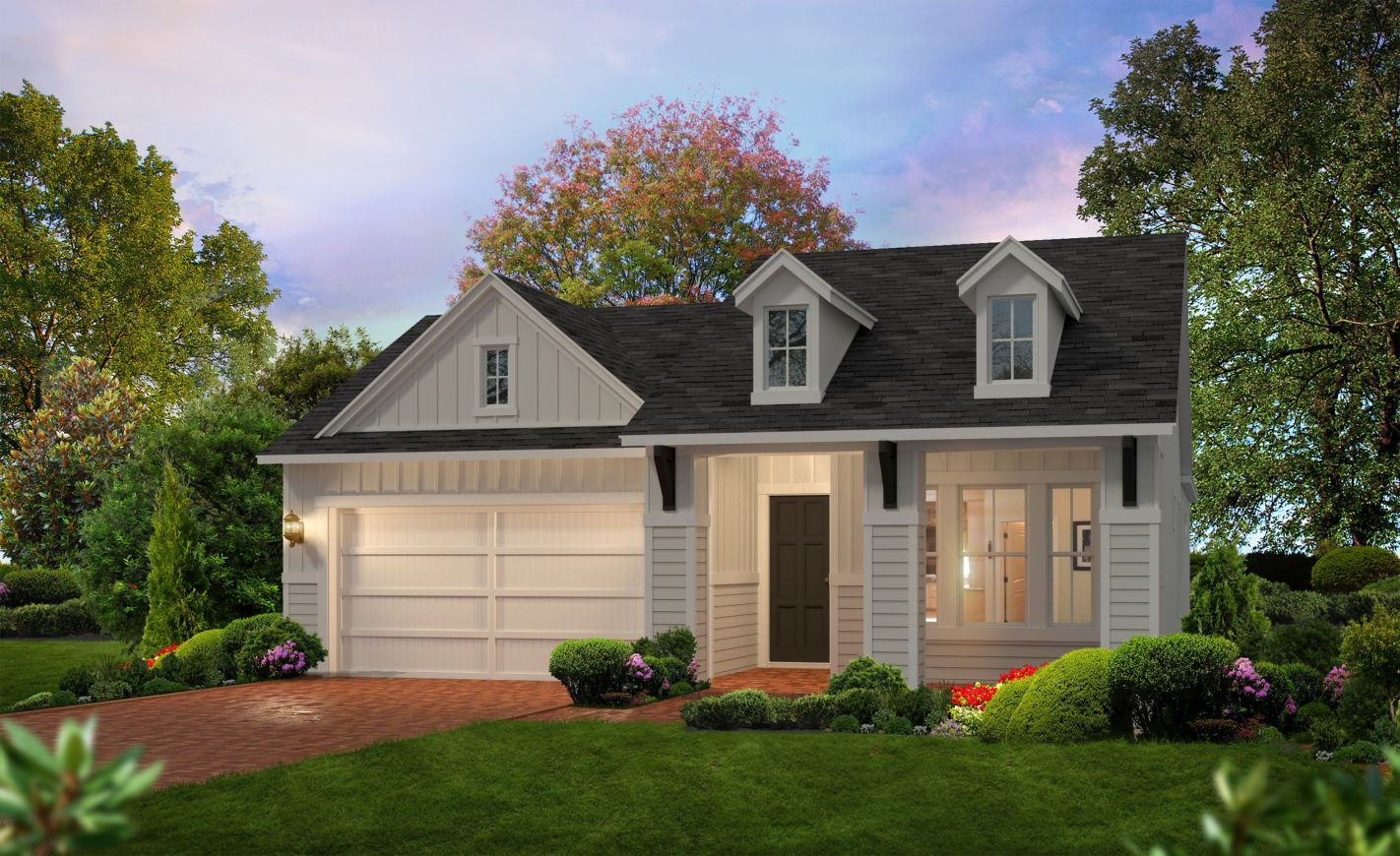 Exterior featured in the Charlotte By ICI Homes in Gainesville, FL