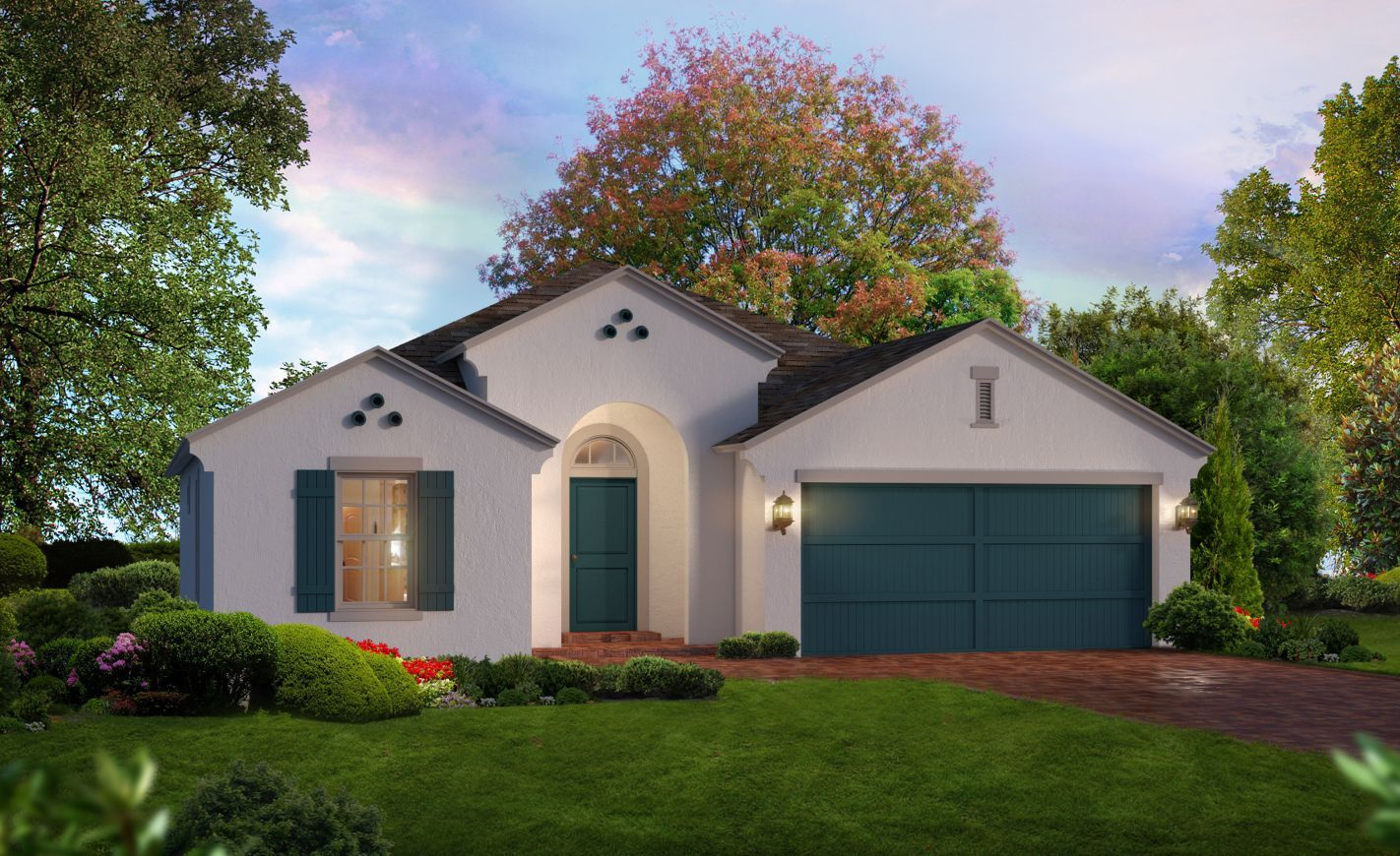 Exterior featured in the Fontana By ICI Homes in Jacksonville-St. Augustine, FL