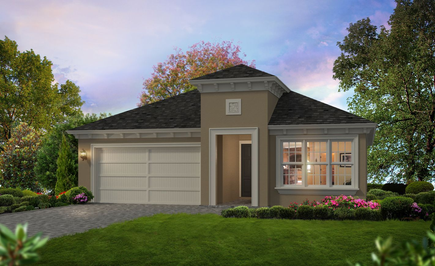 Exterior featured in the Avery By ICI Homes in Jacksonville-St. Augustine, FL