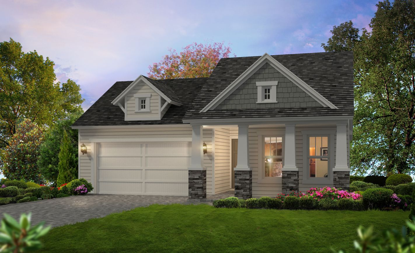 Exterior featured in the Avery By ICI Homes in Gainesville, FL