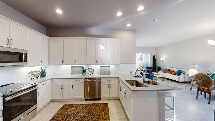 Kitchen featured in the Arbor II By ICI Homes in Daytona Beach, FL
