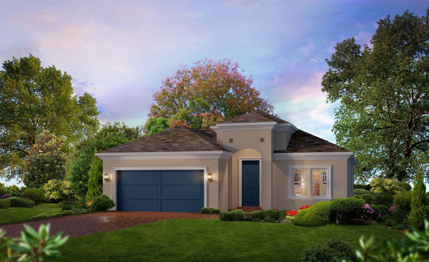 Exterior featured in the Oakland By ICI Homes in Jacksonville-St. Augustine, FL