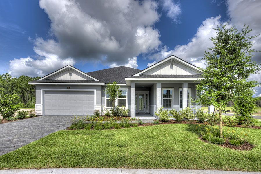 Exterior featured in the Arden By ICI Homes in Jacksonville-St. Augustine, FL