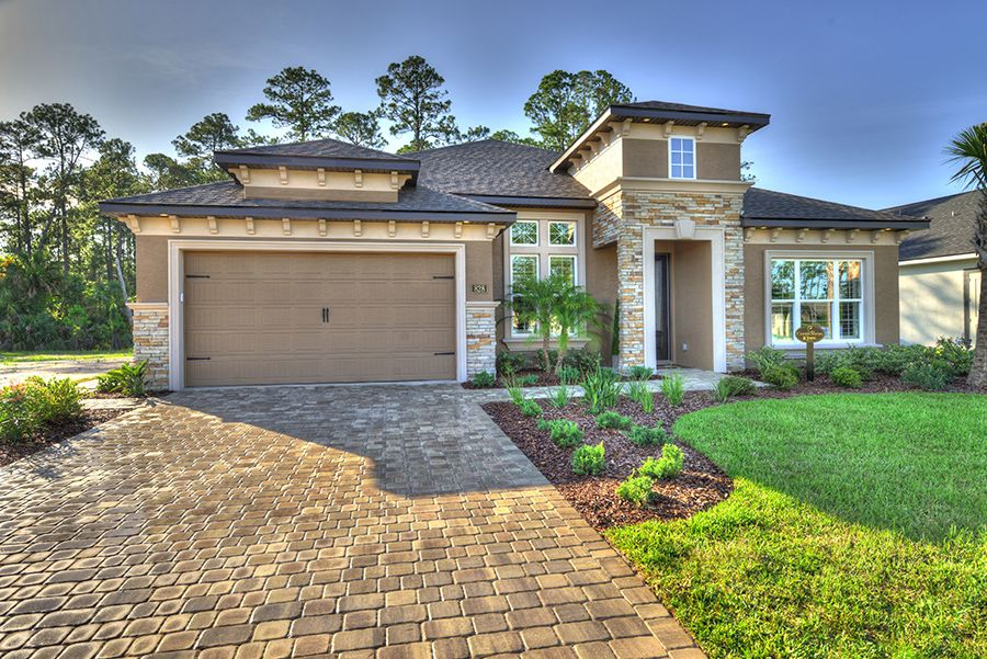 Exterior featured in the Costa Mesa By ICI Homes in Jacksonville-St. Augustine, FL