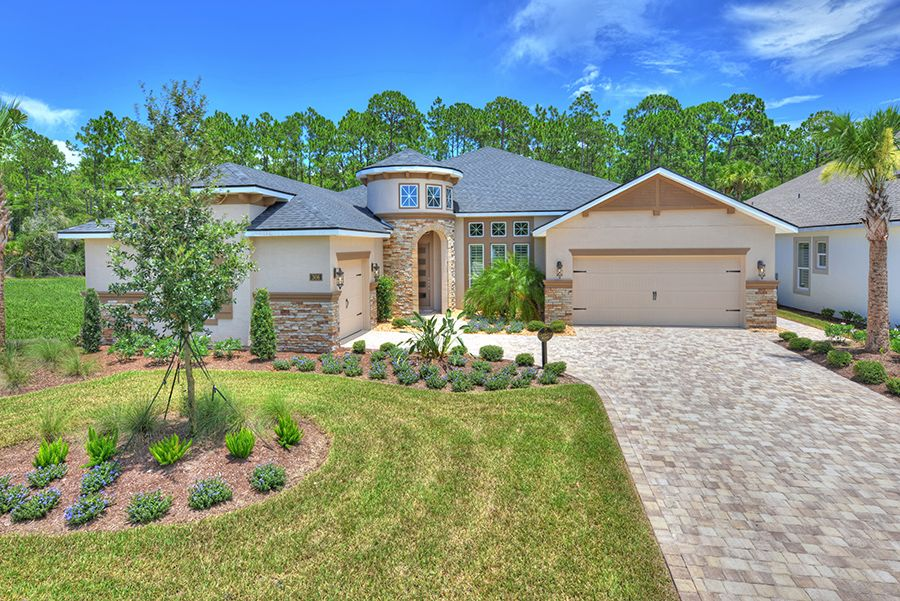 Exterior featured in the Cameron By ICI Homes in Jacksonville-St. Augustine, FL