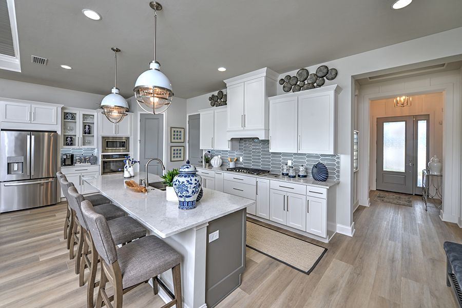 Kitchen featured in the Charlotte By ICI Homes in Gainesville, FL