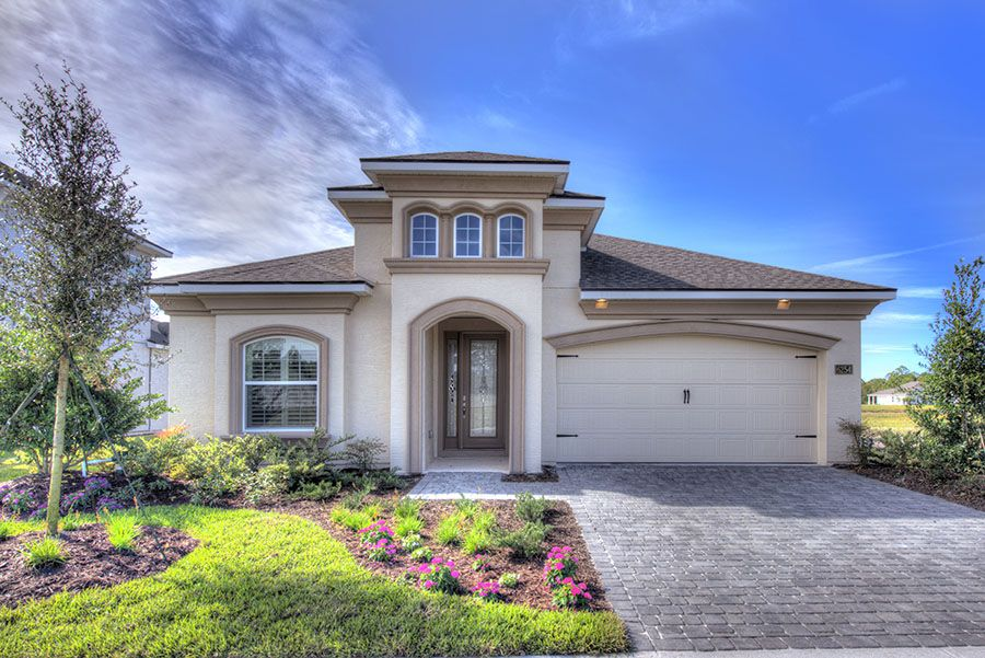Exterior featured in the Serena By ICI Homes in Jacksonville-St. Augustine, FL