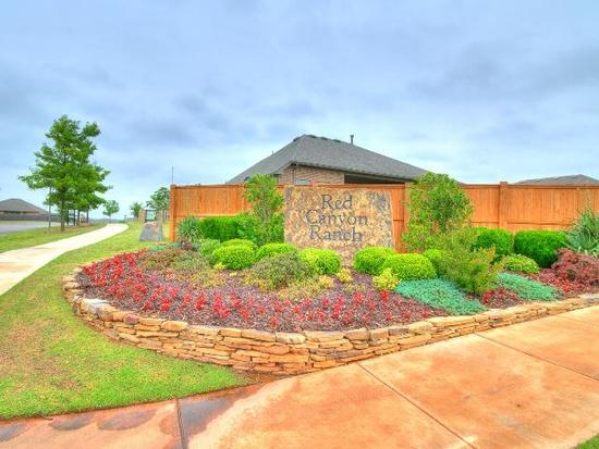 Red Canyon Ranch by Ideal Homes in Oklahoma City Oklahoma