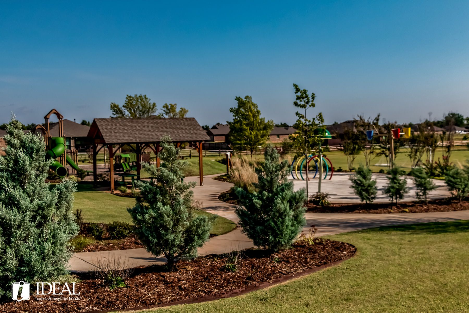 'Castlewood Trails' by Ideal Homes in Oklahoma City