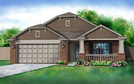 Tradan Heights by Ideal Homes in Oklahoma City Oklahoma