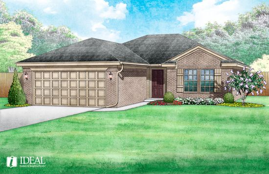 Buffalo Grove at Village Verde by Ideal Homes in Oklahoma City Oklahoma
