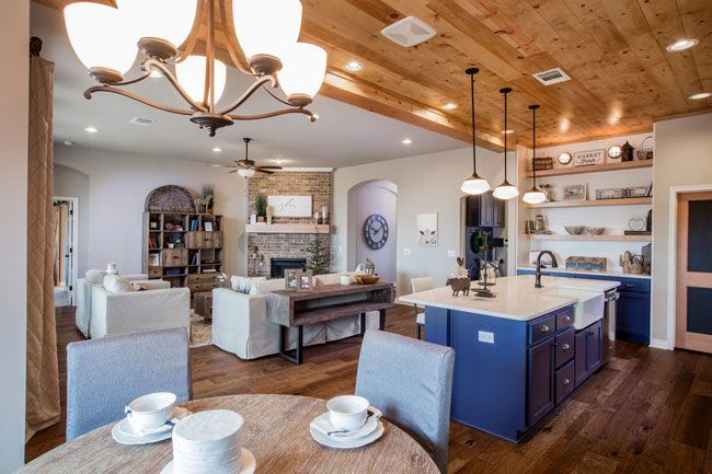 Kitchen featured in the Langley By Ideal Homes in Oklahoma City, OK