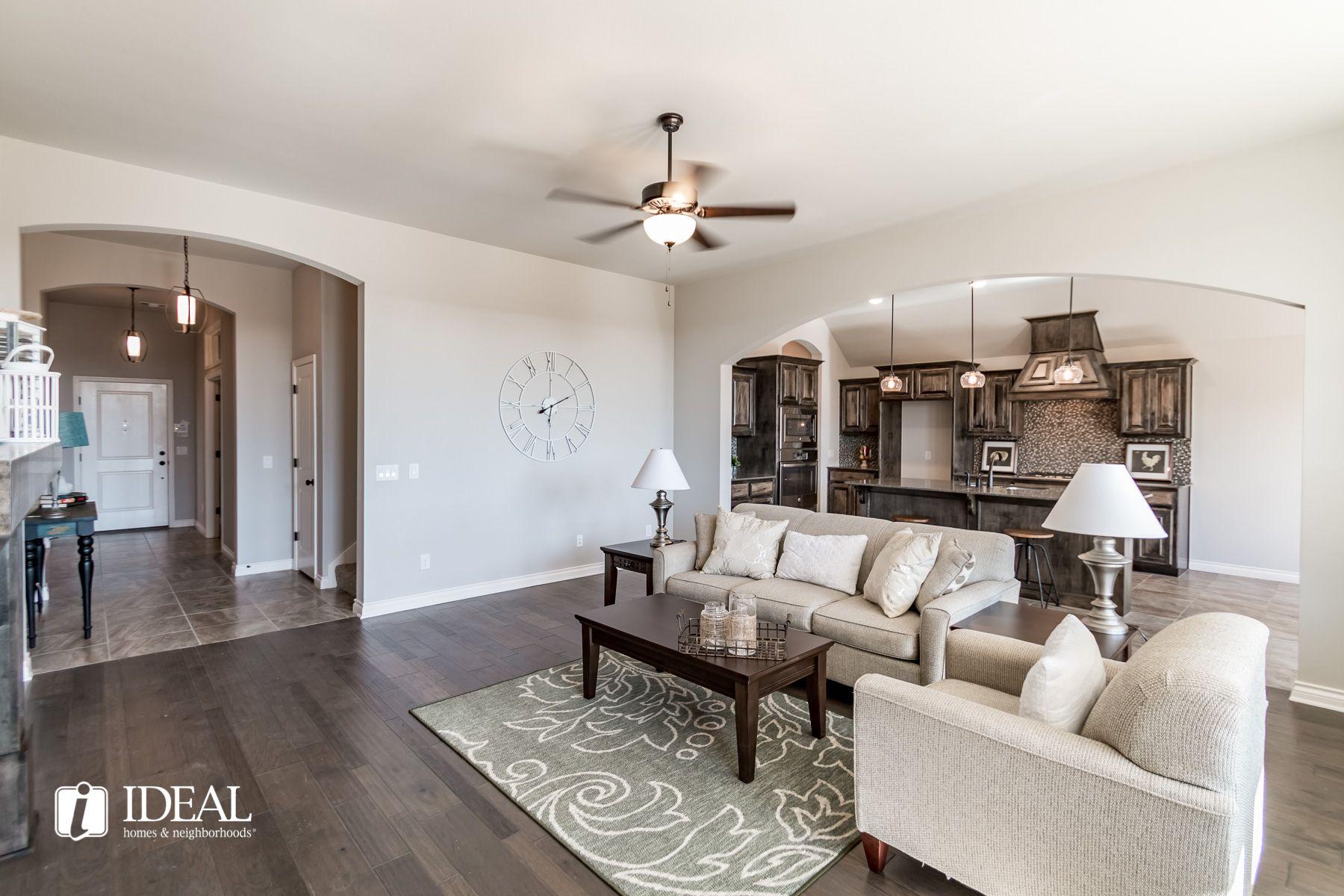 Living Area featured in the Stafford By Ideal Homes in Oklahoma City, OK