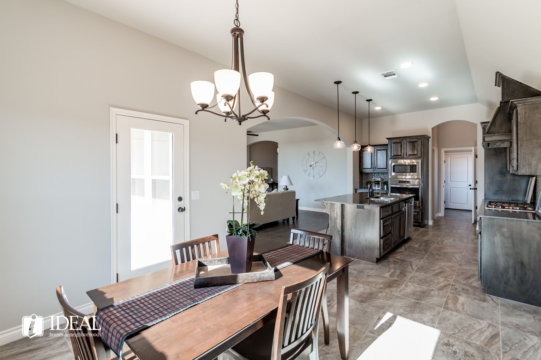 Kitchen featured in the Stafford By Ideal Homes in Oklahoma City, OK