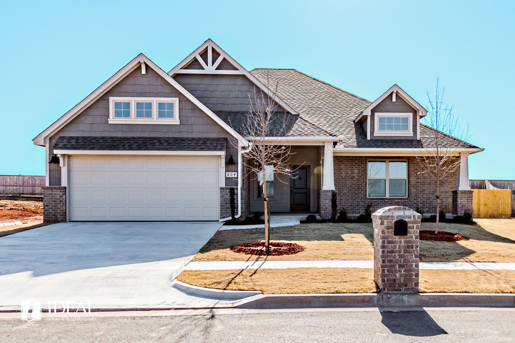 Exterior featured in the Stafford By Ideal Homes in Oklahoma City, OK
