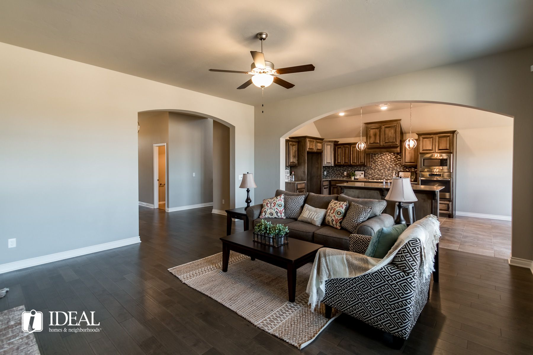 Living Area featured in the Thatcher By Ideal Homes in Oklahoma City, OK