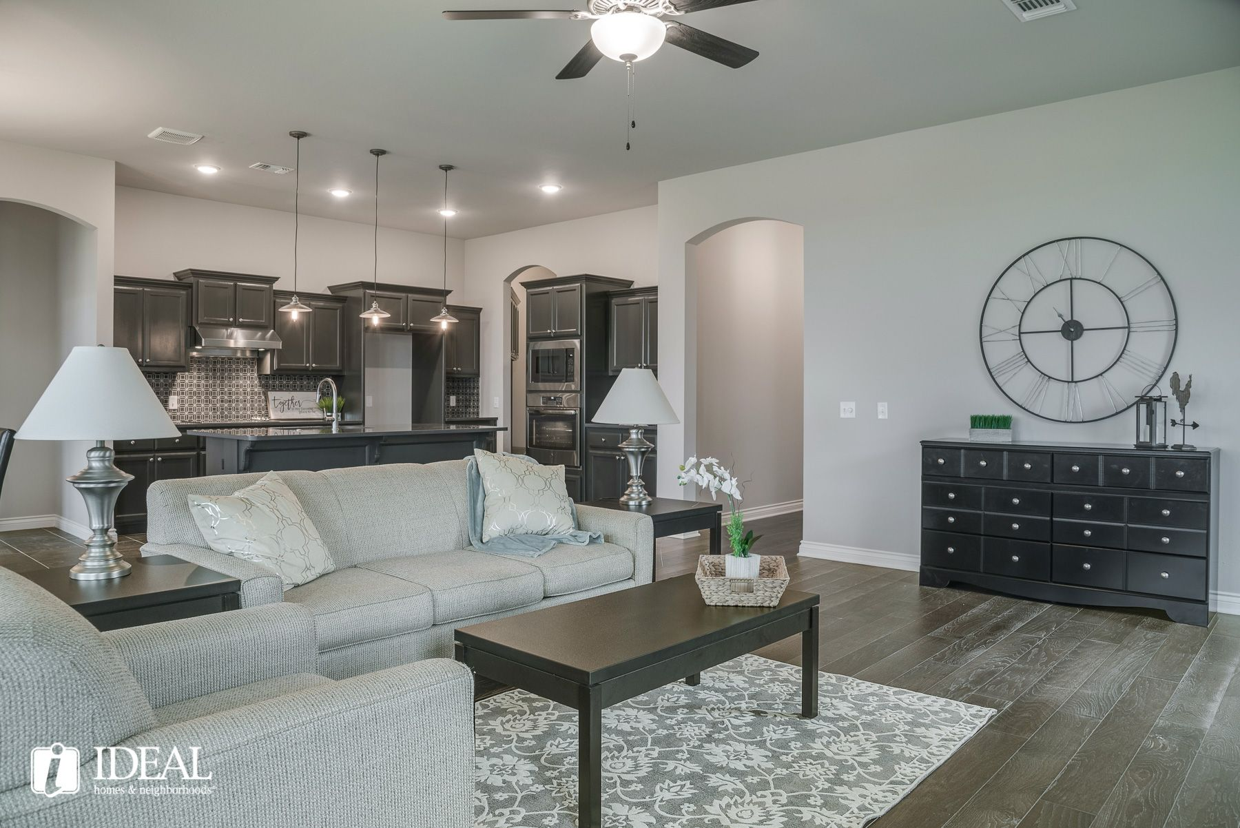 Living Area featured in the Marietta By Ideal Homes in Oklahoma City, OK