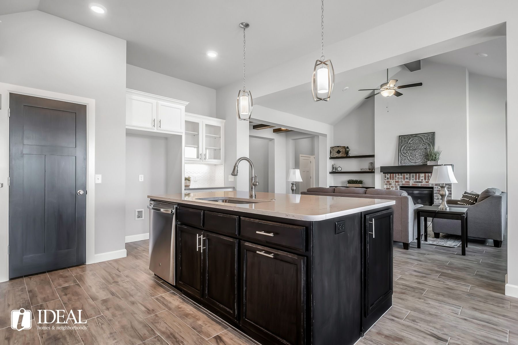 Kitchen featured in the Orwell Modern By Ideal Homes in Oklahoma City, OK