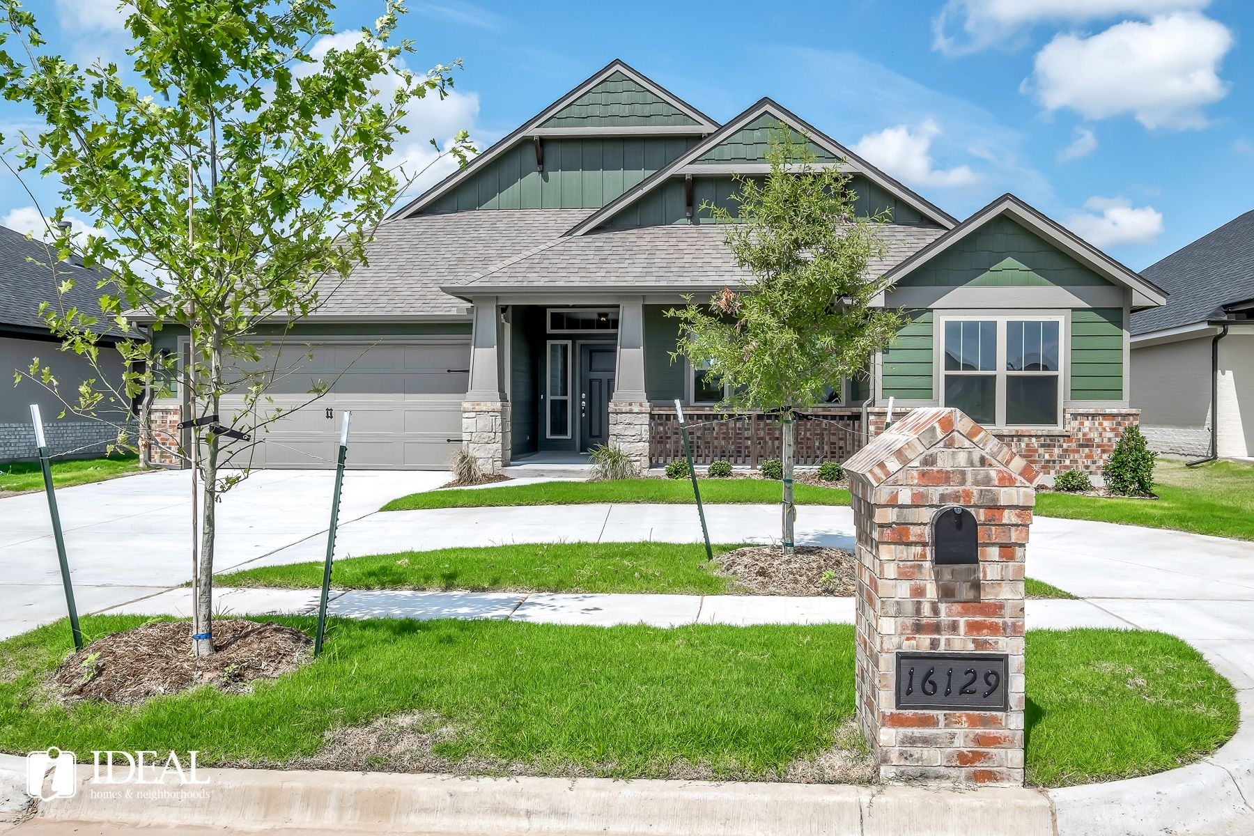 Exterior featured in the Orwell Modern By Ideal Homes in Oklahoma City, OK