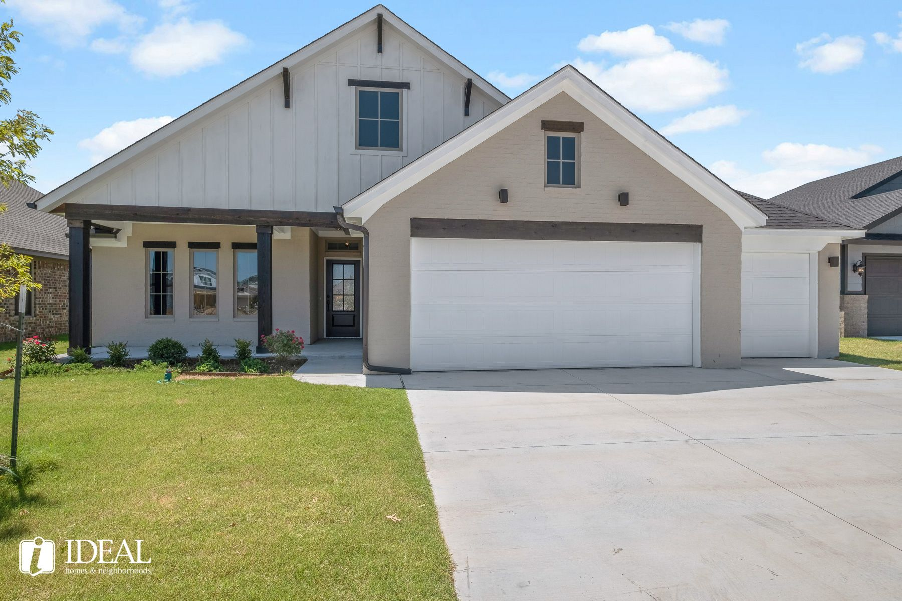 Exterior featured in the Overly By Ideal Homes in Oklahoma City, OK