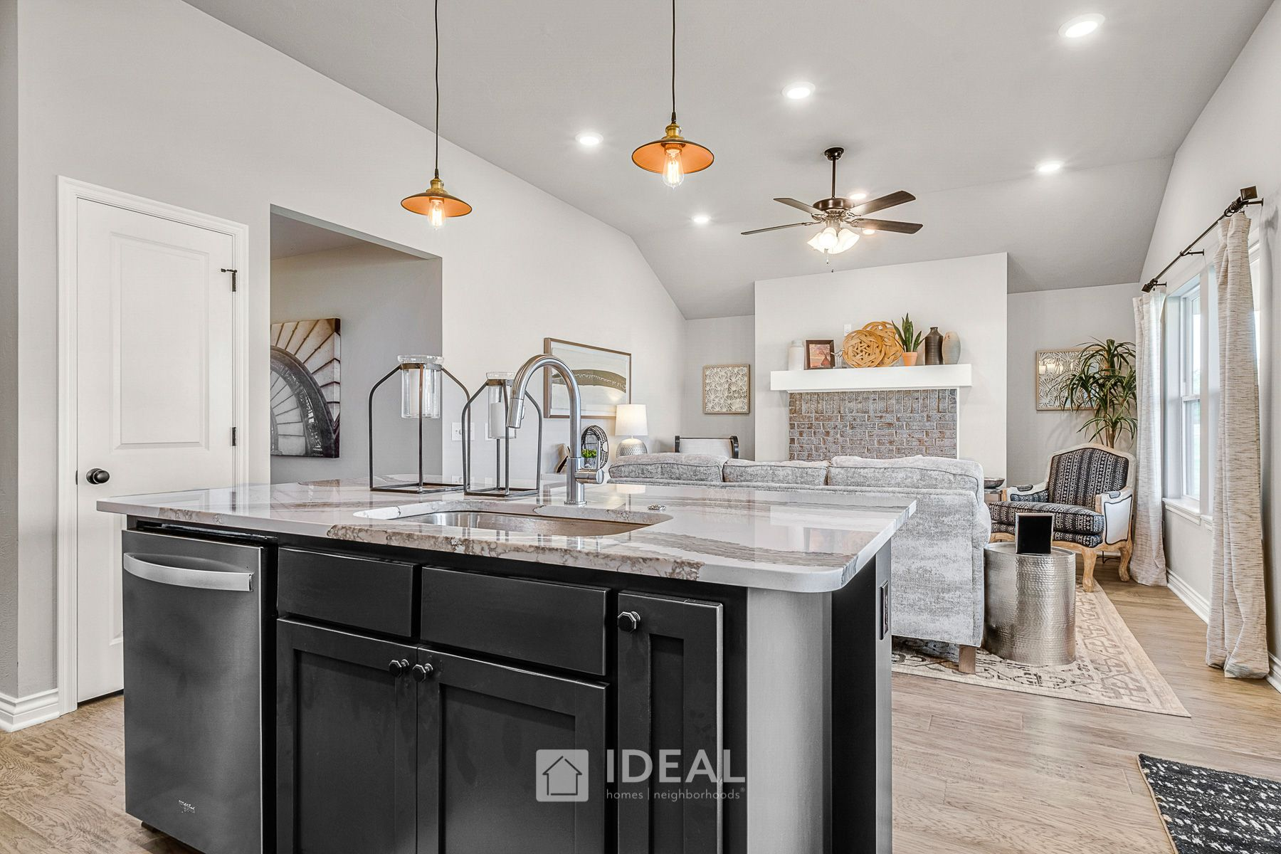 Kitchen featured in the Dawson By Ideal Homes in Oklahoma City, OK